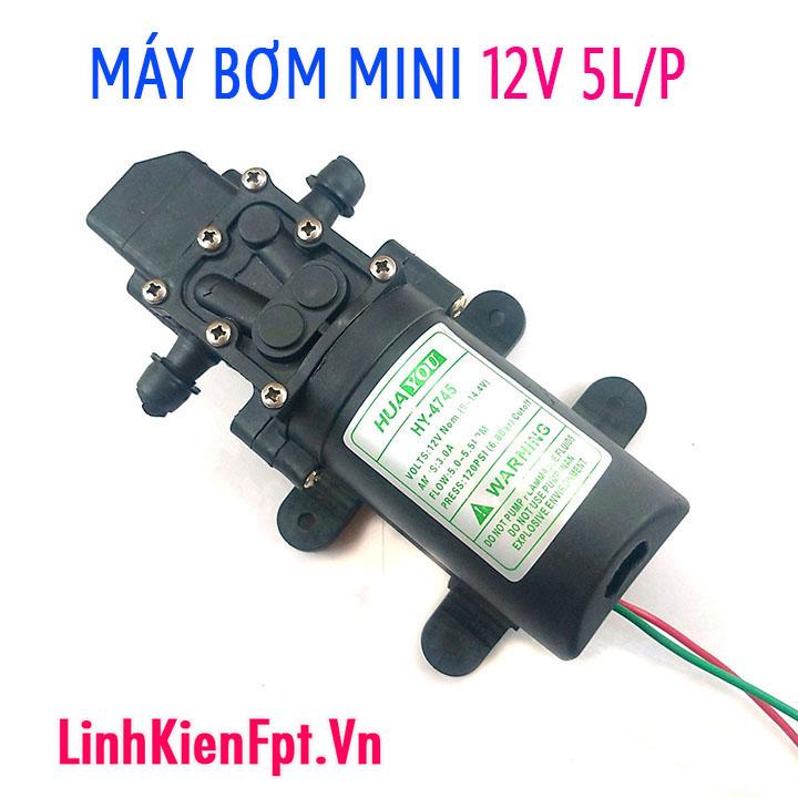 Máy bơm cao áp 12V Máy bơm mini