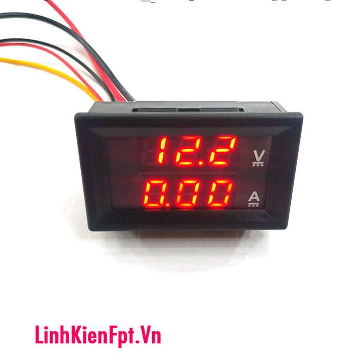 Đồng hồ đo điện áp , dòng điện Acquy 100V-10A