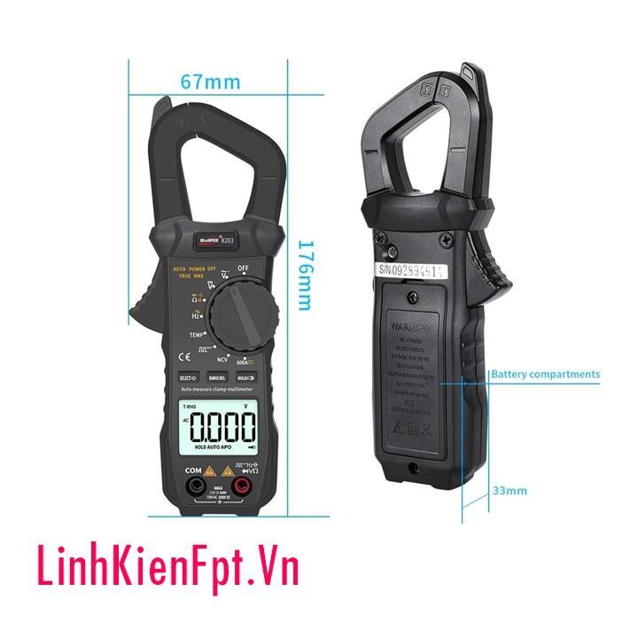 Đồng hồ ampe kìm WinAPEX8203