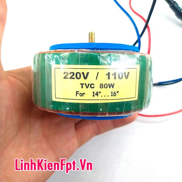 Biến Áp Xuyến 220VAC-110VAC