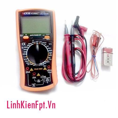 Đồng Hồ VOM Digital Multimeter Victor VC890C+