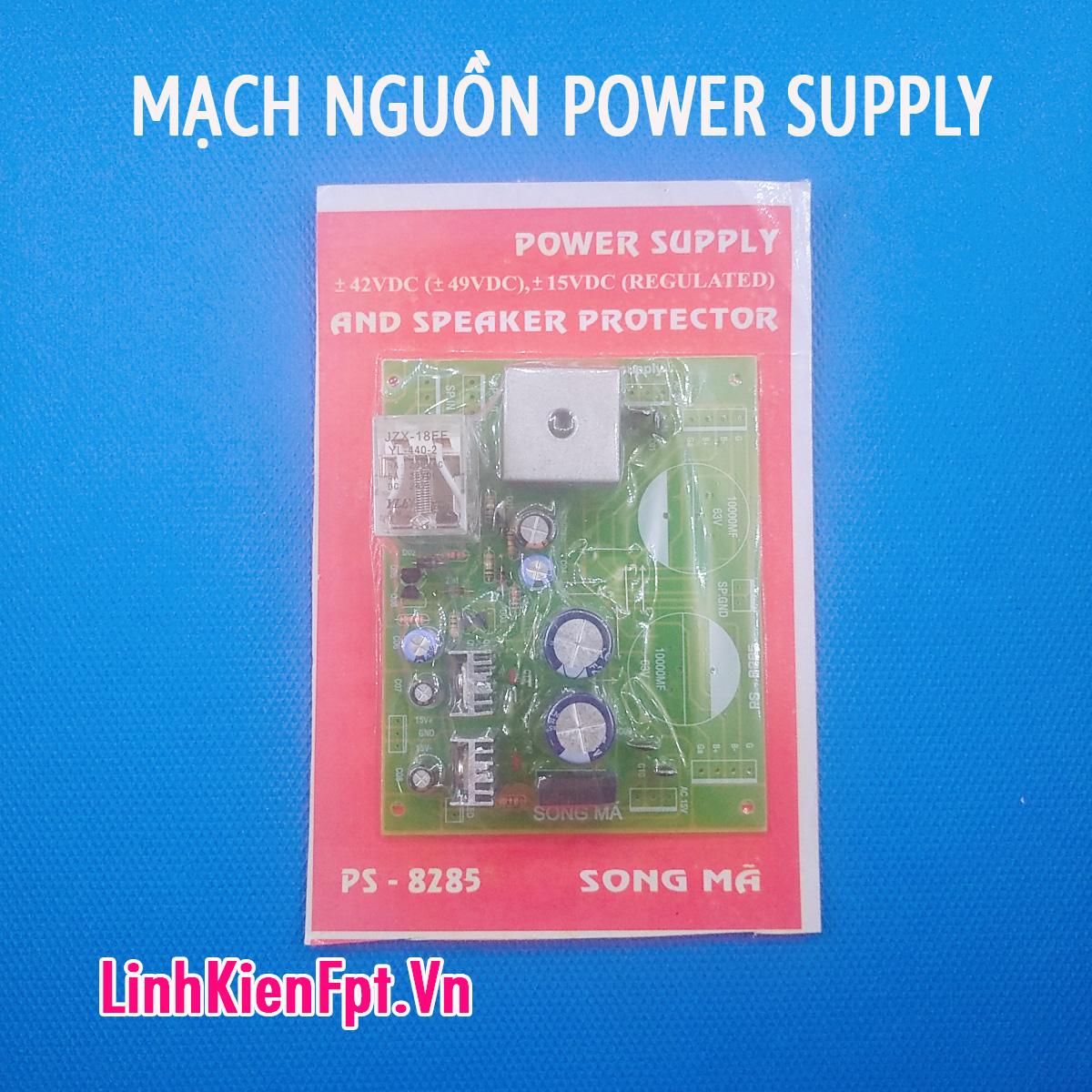 Mạch nguồn Âm Li POWER SUPPLY 8285