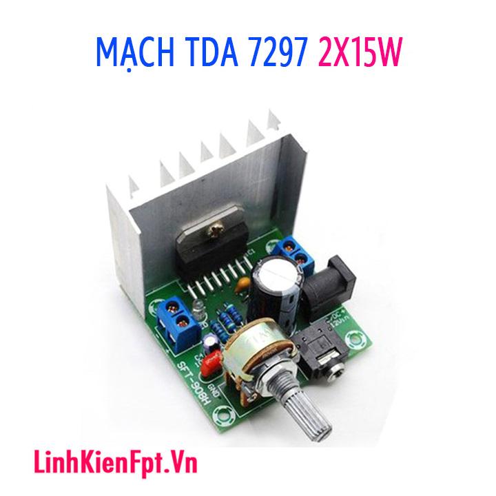 Mạch khuếch đại âm thanh TDA7297 Công Suất 2X15W