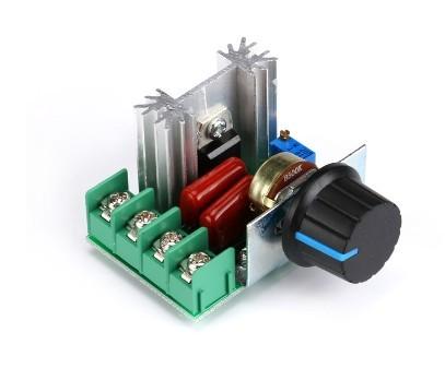 Dimer 2000W 220VAC Điều Chỉnh Điện Áp Thay Đổi Tốc Độ