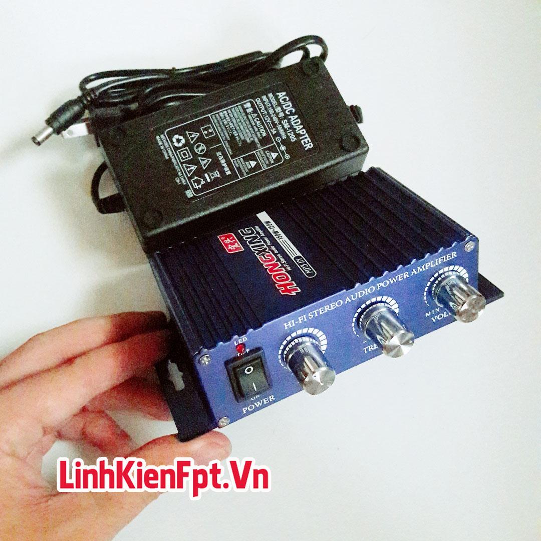 ÂM Ly Mini 150W 825i + Nguồn Adapter 12v-5A