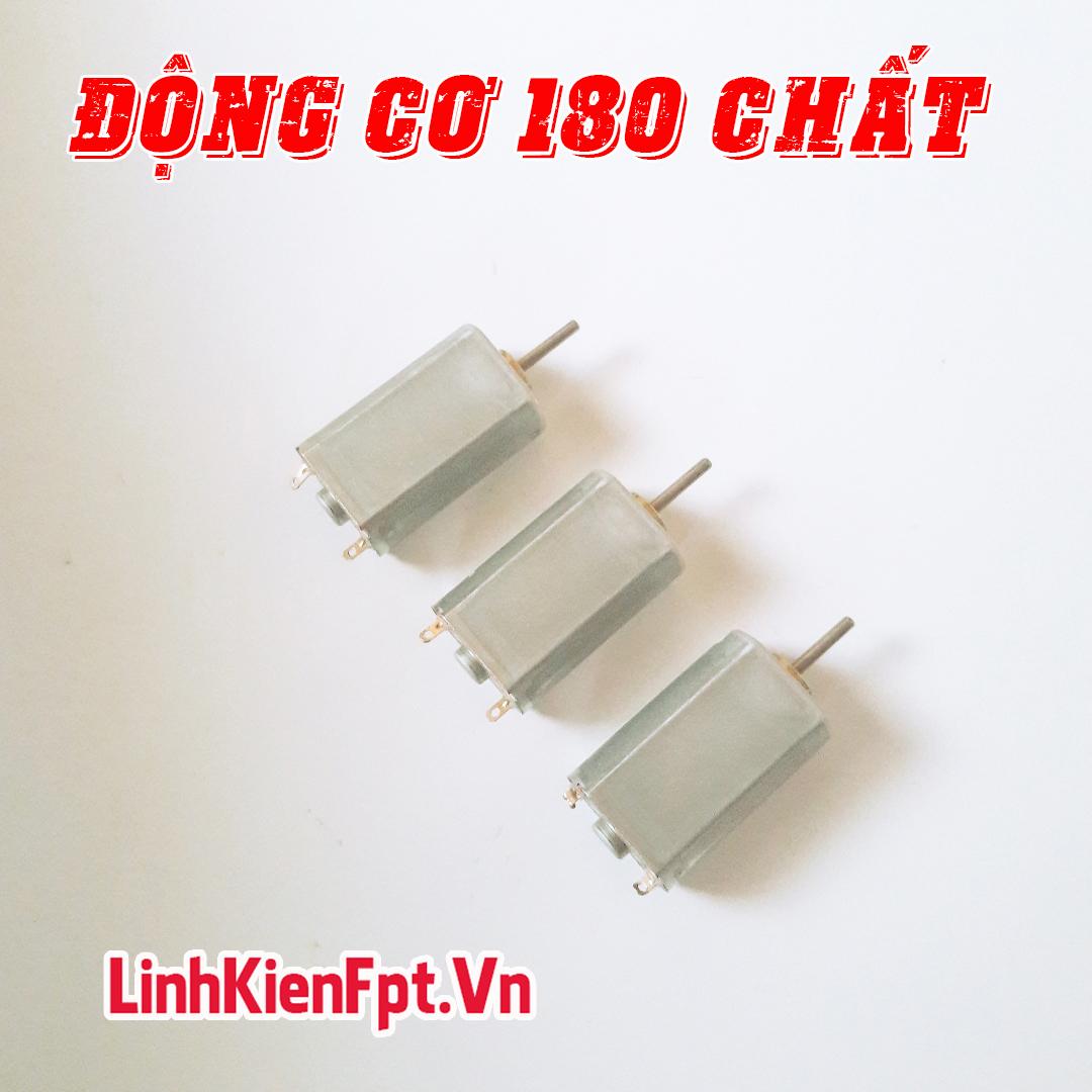 Động Cơ 180 , Motor 180 , 19000Rpm 3,7V - COMBO 3 Chiếc