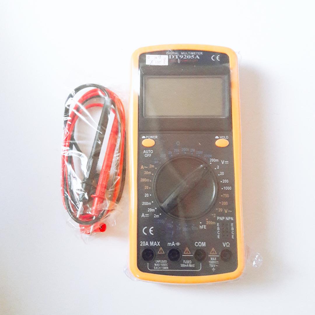 Đồng Hồ Đo Vạn Năng DT9205 , Đồng Hồ Đo Điện Tử Chất Lượng Tốt + Kèm Pin