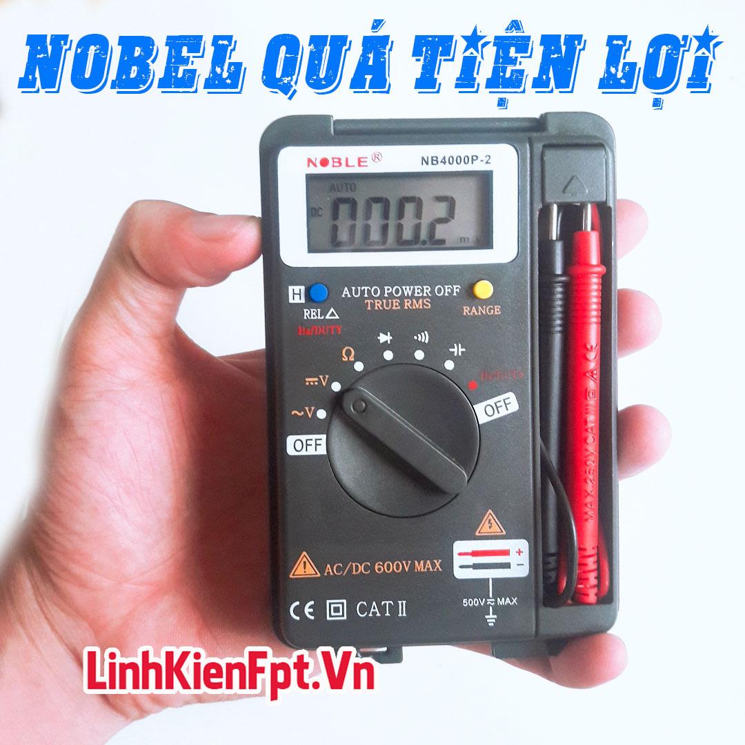 Đồng Hồ Đo Vạn Năng NOBEL - Thợ Điện Tin Dùng , Chất Lượng