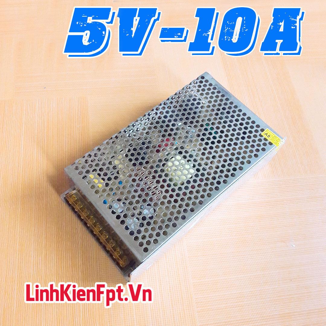 Nguồn Tổ Ong 5V 10A - Nguồn Tổng Led Quảng Cáo , Camera