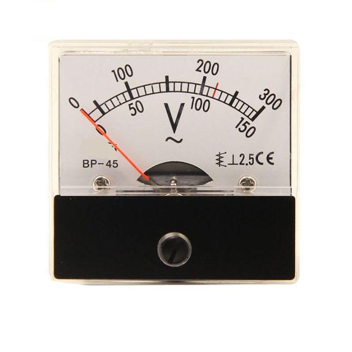 Đồng Hồ Đo Điện Áp 300VAC 45x45mm