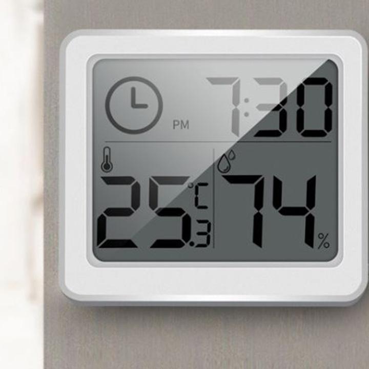 Đồng Hồ đo nhiệt độ , độ ẩm Hiển thị thời gian