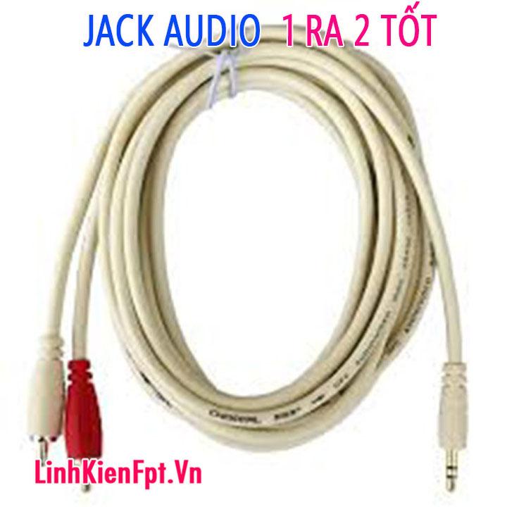 Dây kết nối audio 1 ra 2 dài 3m