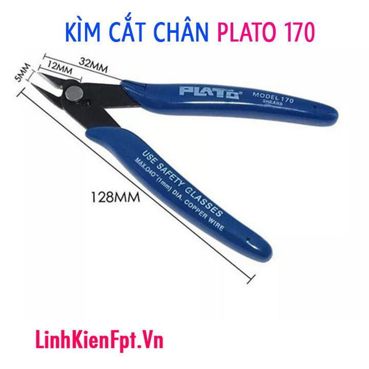 Kìm cắt linh kiện PLATO 170