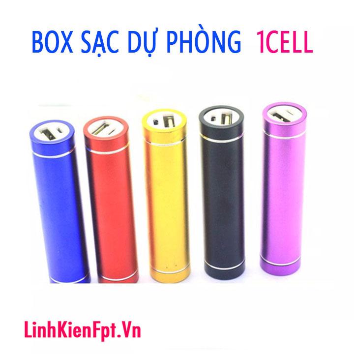 Box sạc pin dự phòng 1 Cell Chưa Pin
