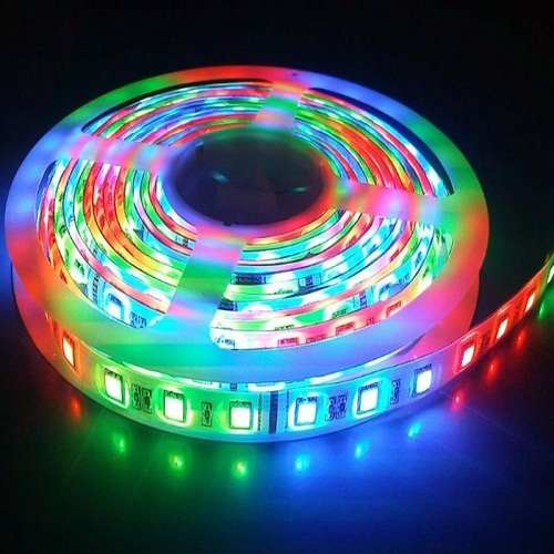 Dây LED RGB Đa Sắc Màu Có Remote Điều khiển