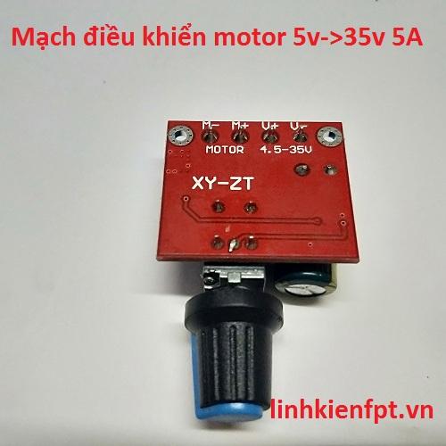 Mạch Điều Tốc Mortor 5-35V 5A