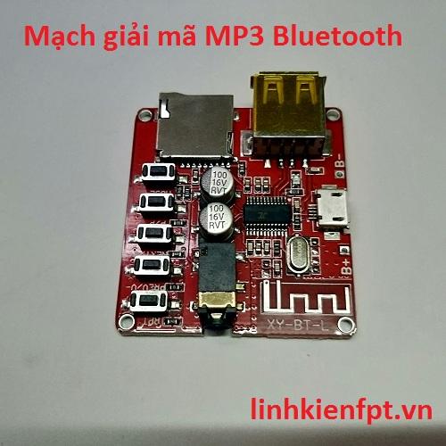 Mạch Giải Mã MP3 Bluetooh XY-BT-L