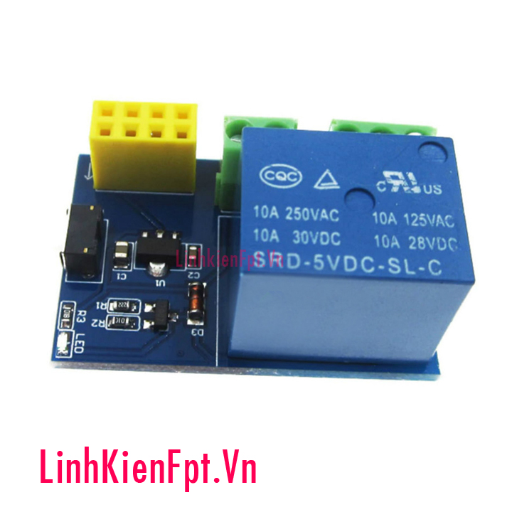 Module Điều Khiển Relay 5-12VDC Bằng Wifi ESP8266 - 01
