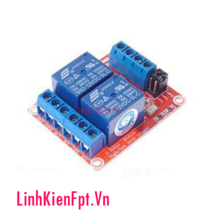 Module Relay 5VDC 1/2/4 Kênh High / Low