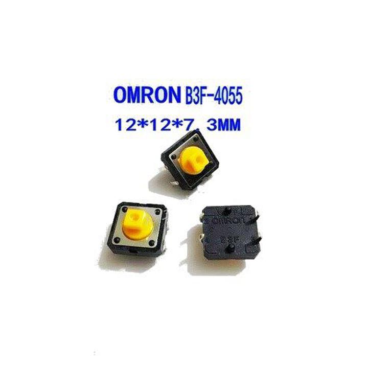 Nút Nhấn 4 Chân 12x12x7.3mm