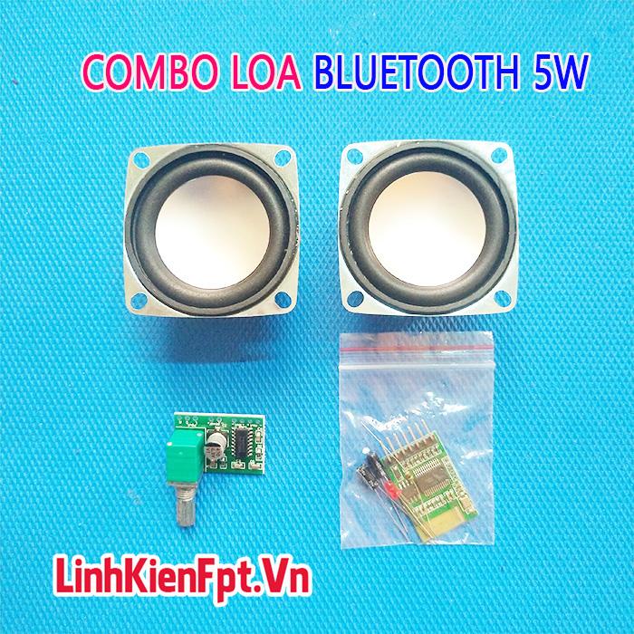 Combo chế loa Bluetooth 5W Pam8403 vs Win 88