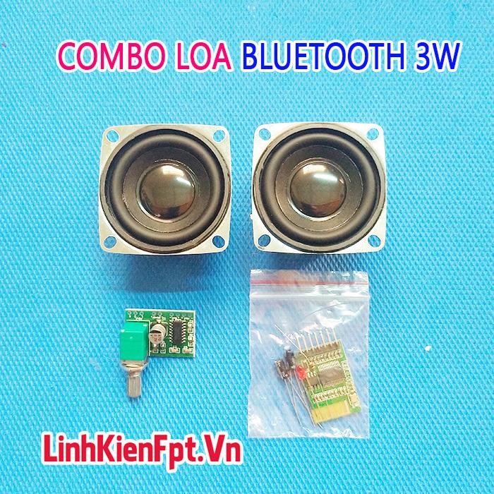Combo chế loa Bluetooth 3W Pam8403 vs Win 88