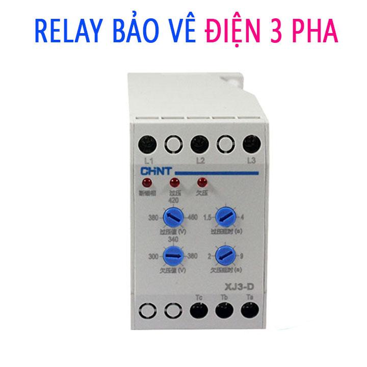 Relay Bảo Vệ Điện Áp 3 Pha