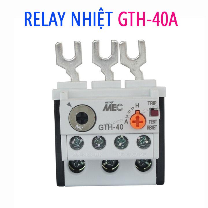 Relay Nhiệt GTH 40A Rơ Le Nhiệt