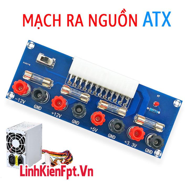 Mạch Ra Nguồn ,Chuyển Đổi Nguồn ATX Chip XH-M229