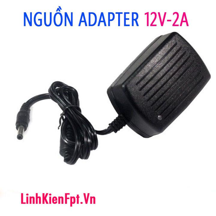 Nguồn Adapter 12V-2A