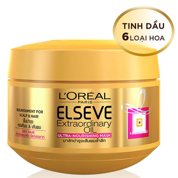 Ủ TÓC L'OREAL ELSEVE EXTRA ORDINARY 6 PRECIOUS OIL