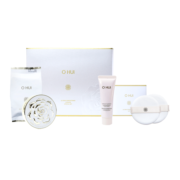 PHẤN NƯỚC OHUI ULTIMATE BRIGHTENING CUSHION SPECIAL SET!