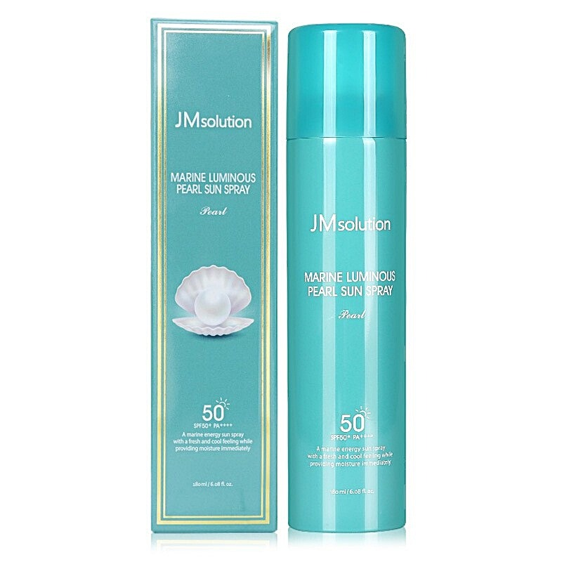 XỊT CHỐNG NẮNG JM SOLUTION MARINE LUMINOUS PEARL SUN SPRAY SPF 50+/PA +++