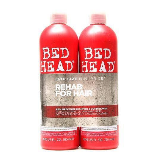 BỘ DẦU GỘI XẢ TIGI BED HEAD REHAB FOR HAIR #RED