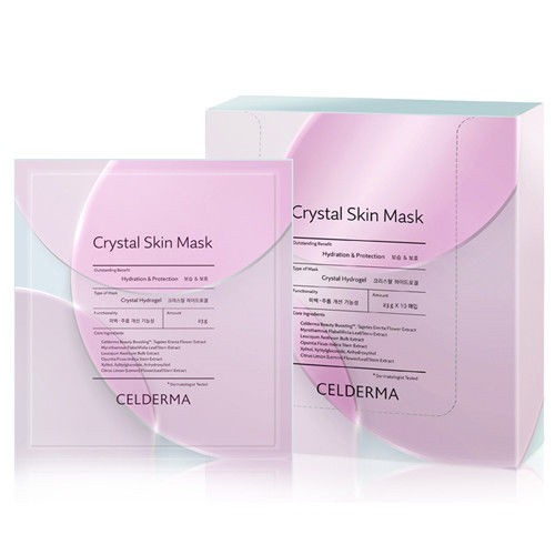 MẶT NẠ THẠCH ANH CELDERMA CRYSTAL SKIN MASK