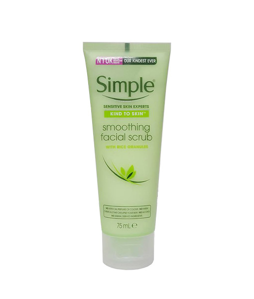 TẨY TẾ BÀO CHẾT SIMPLE KIND TO SKIN SOOTHING FACIAL SCRUB