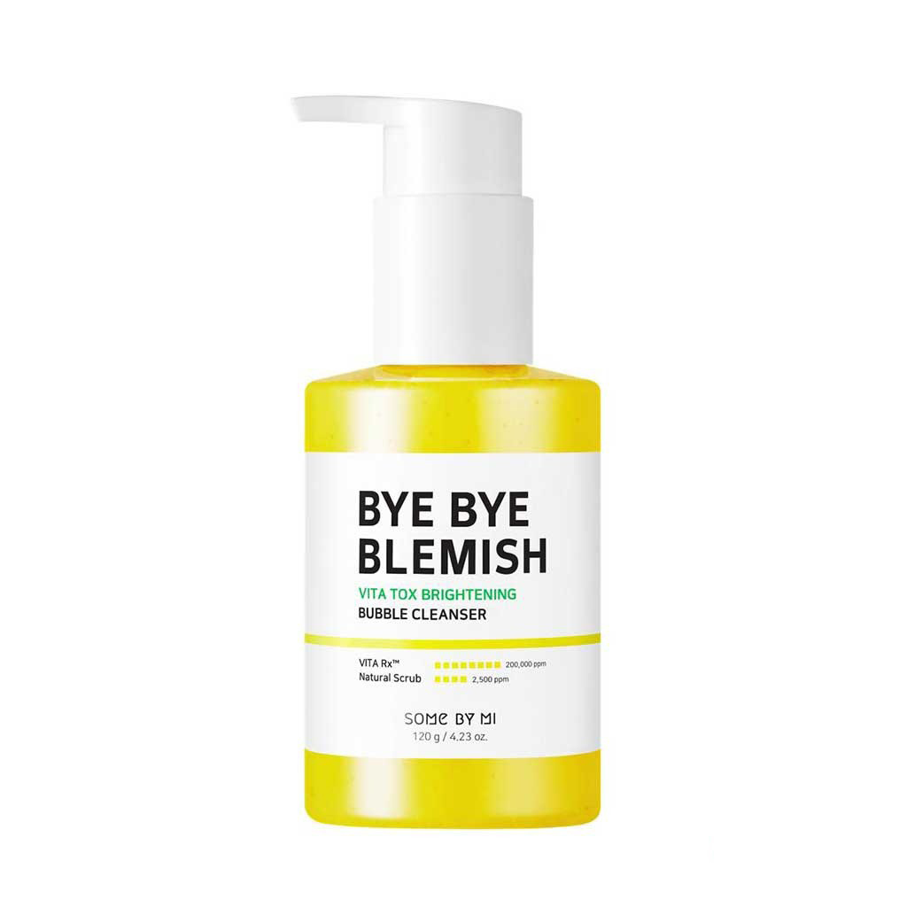 GEL RỬA MẶT SOME BY MI BYE BYE BLEMISH VITA TOX BRIGHTENING BUBBLE CLEANSER