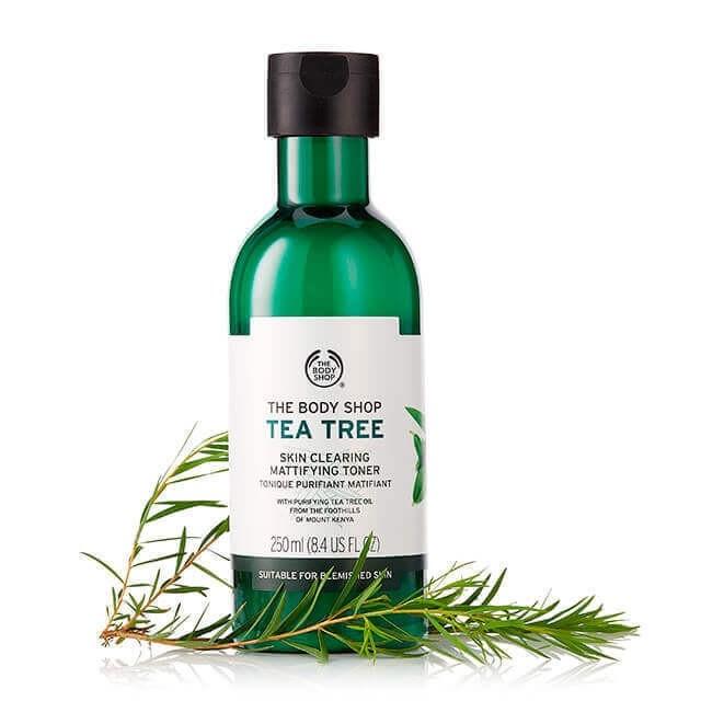 NƯỚC CÂN BẰNG DA THE BODY SHOP TEA TREE SKIN CLEARING MATTIFYING TONER