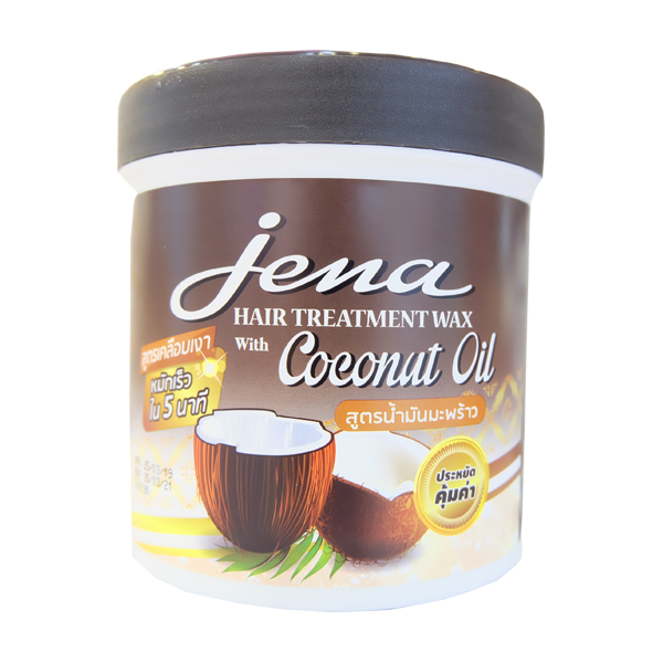 <MẪU MỚI> KEM Ủ TÓC DẦU DỪA JENA HAIR TREATMENT WAX