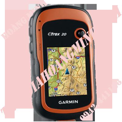 MÁY ĐỊNH VỊ CẦM TAY GARMIN GPS ETREX20