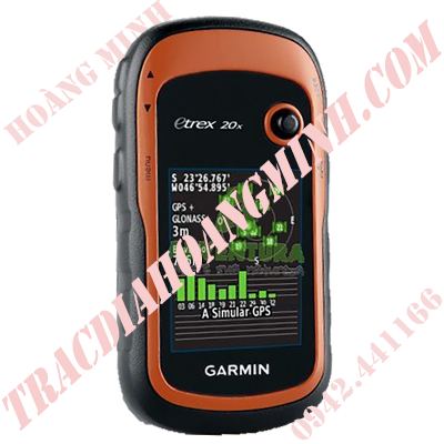 MÁY ĐỊNH VỊ GPS CẦM TAY GARMIN ETREX20X