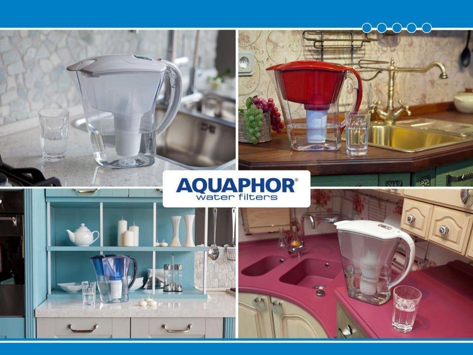 Bình lọc nước Aquaphor Premium đồng hồ điện tử