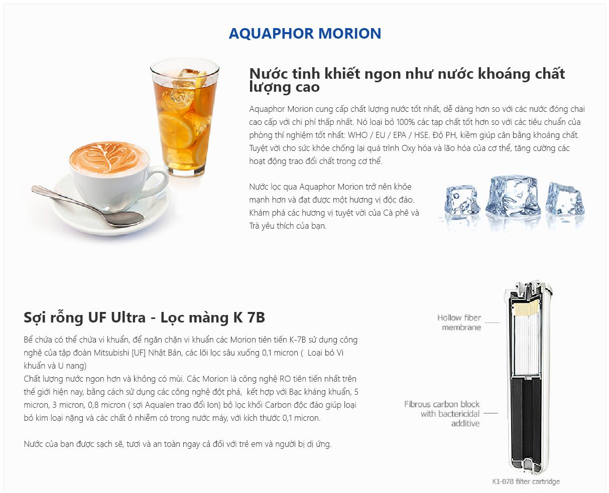 Máy lọc nước RO Aquaphor Morion