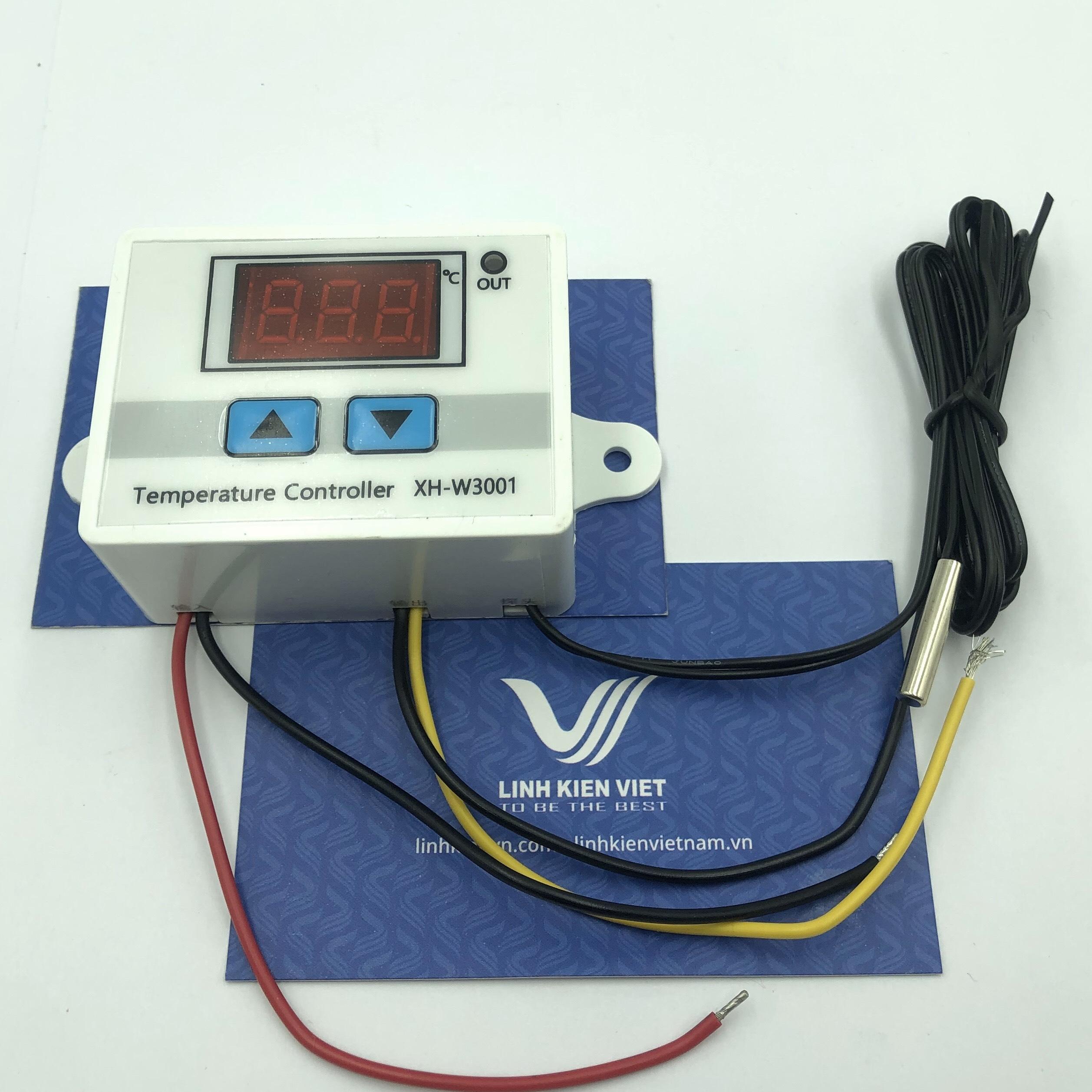 Module điều khiển nhiệt độ NTC XH-W3001 12V - i2H24