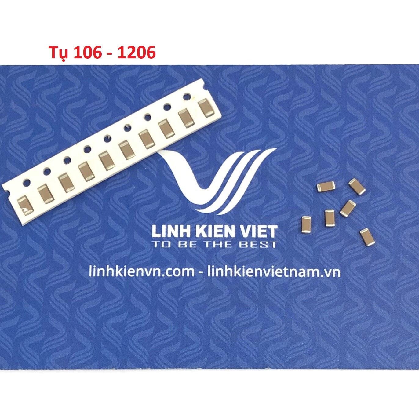Tụ SMD 106 10uF 1206 - 10 con
