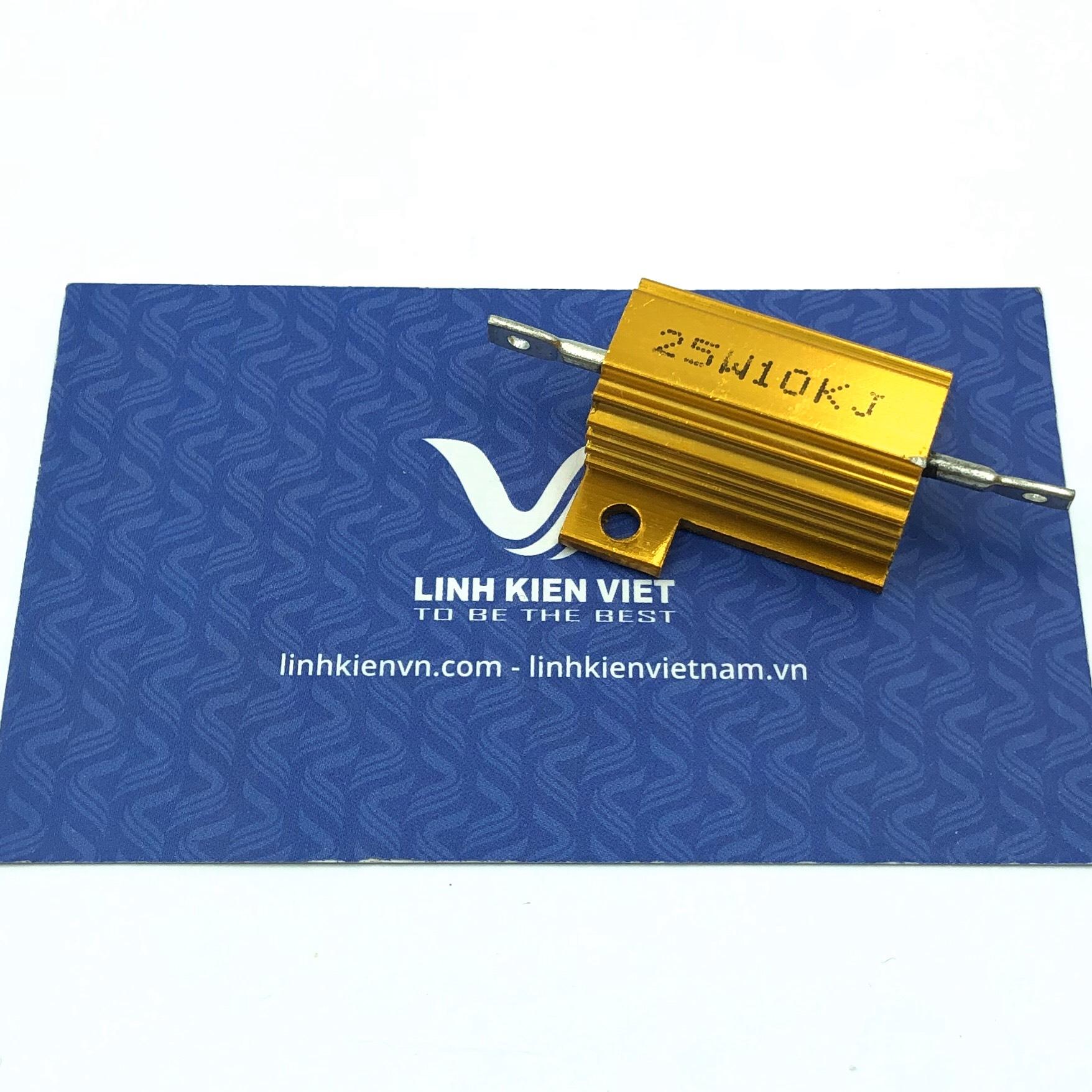 Điện trở nhôm RX24 10K 25W - A5H21