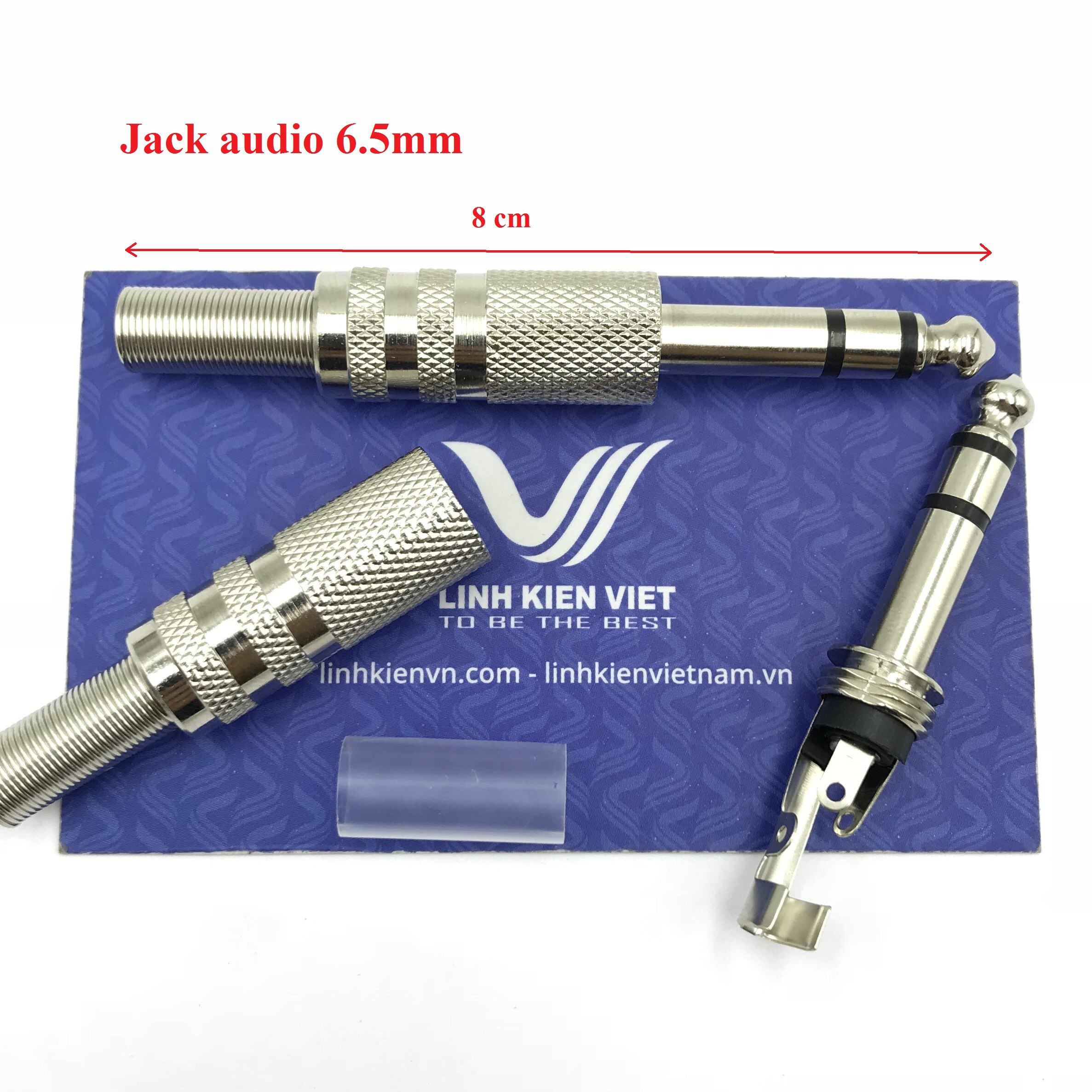 Jack Audio 6.5mm 3 chân - D8H19