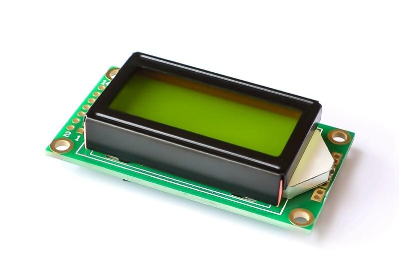 LCD0802 5V xanh lá - J1H5