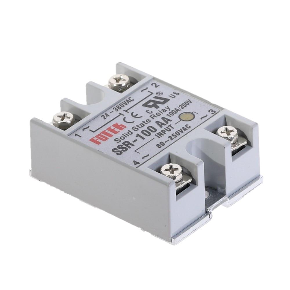 Relay bán dẫn SSR - 100AA input 80-250VAC