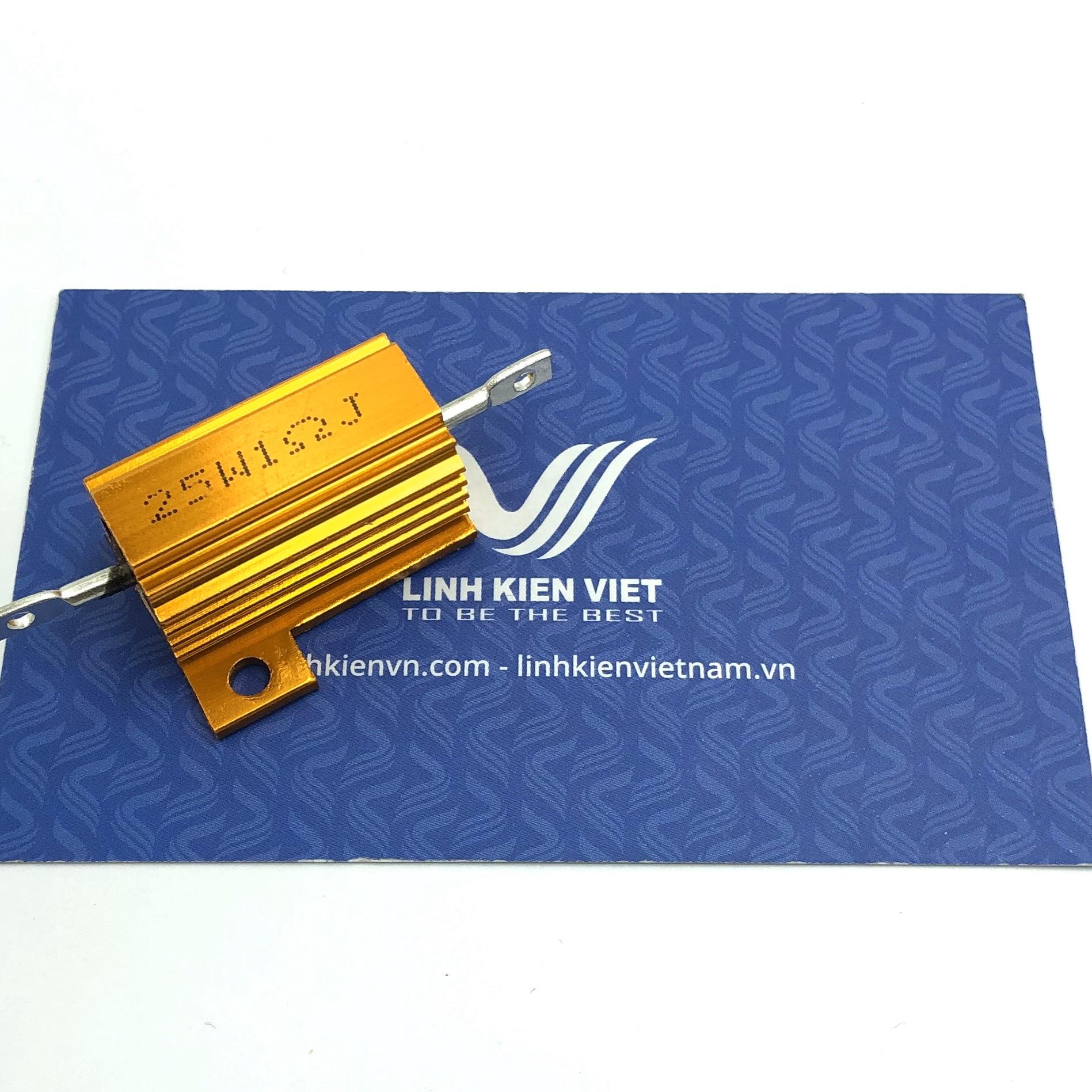 Điện trở nhôm RX24 1R 25W - A4H22